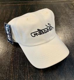 NEW Ping Classic Karsten White Adjustable Golf Hat/Cap
