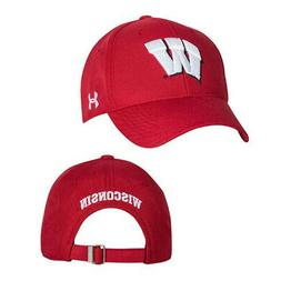 NEW Under Armour Classic Structured Adjustable Hat - Wiscons