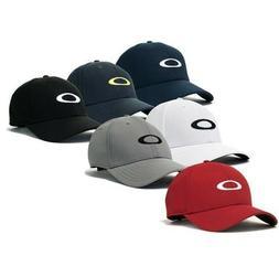 New Oakley Golf Ellipse Cap One Size Blk Navy White 91809 Hy
