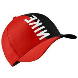 New Nike Golf Hat Majors Classic 99 Aerobill Adjustable Blac