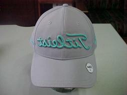 NEW TITLEIST GOLF HAT TEAL & GREY MAGNETIC BALL MARKER CAP L