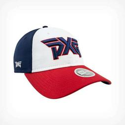 New Ladies PXG Red, White and Blue Hat - NEW ERA- Adjustable