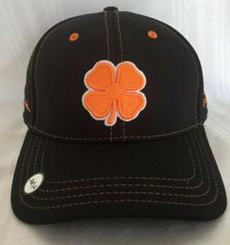 New Black Clover Live Lucky Black/Orange Fitted L/XL Hat Tra
