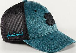 NEW Black Clover Lucky Heather Mesh Ocean/Black Fitted L/XL
