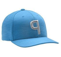 NEW Puma P110 Snapback Ibiza Blue Adjustable Golf Hat/Cap