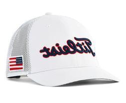 NEW Titleist Stars & Stripes Tour Snapback White Adjustable