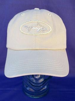 NEW GREG NORMAN STRAPBACK BALL CAP ADJUSTABLE GOLF HAT SHARK
