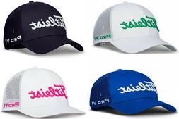 NEW Titleist TOUR MESH SNAPBACK Golf Cap Hat, PICK COLOR, Li