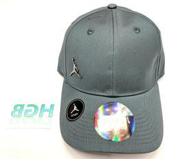 Nike Air Jordan Jumpman Youth Hat Boys Dri-Fit Slate Grey Go