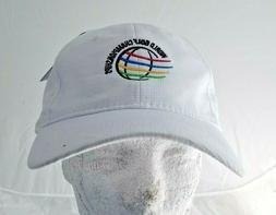 NWT's World Golf Championships AHEAD Strap Back Hat/Cap