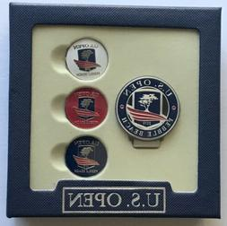 Pebble beach U.S. open golf ball markers hat clip set 2019 p