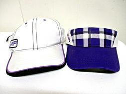 PING Purple & white Combo Ladies Golf Cap and Visor <New> ad