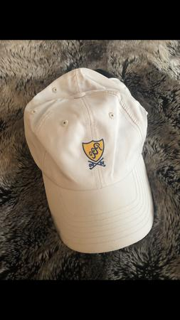 plainfield country club tan golf hat top