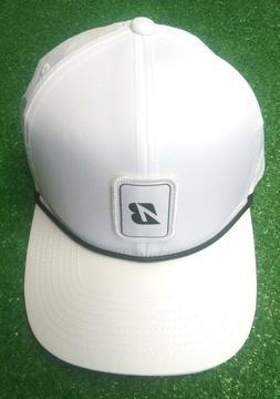 Bridgestone Rope Collection Men's Golf Cap Hat Adjustable Wh