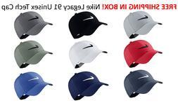 SHIPS FREE IN BOX Nike Golf Legacy 91 TOUR HAT Swoosh Cap Ha
