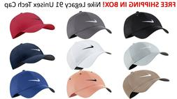 SHIPS FREE IN BOX 2020 Nike Golf Legacy 91 TOUR HAT Swoosh C
