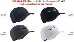 SHIPS IN BOX! Nike Golf TOUR HAT Swoosh Cap Classic 99 FITTE