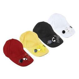 Summer Sport Outdoor Hat Cap With Solar Sun Power Cooler Fan