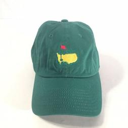 the masters green augusta golf hat strapback