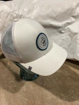 TRAVIS MATHEW Top Golf Hat - Adjustable Fit White mesh style