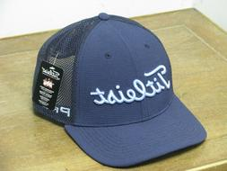 Titleist Tour Issue Tour Snapback Mesh Golf Hat Navy/Caribbe