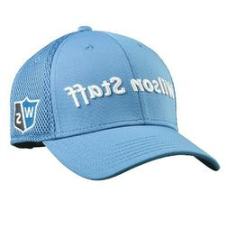 Wilson Staff Tour Mesh Golf Hat Adjustable Blue  - New 2018