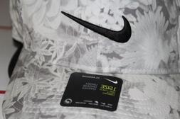 Nike Unisex Aerobill Classic 99 Golf Cap BQ1301-010 White/Gr