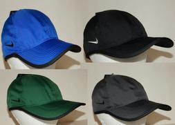 Nike Unisex Featherlight Cap / Hat Strapback Golf Running Bl