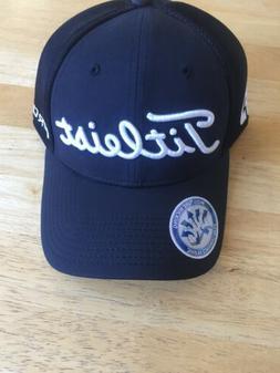 Titleist Unisex New Era Pro V1 FJ Black/White Golf Hat Cap,