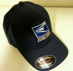 USPS Embroidered FLEXFIT  Cap / Navy Blue / USPS Logo1 Baseb