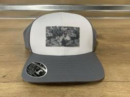 Puma Utility Patch 110 Snapback Golf Hat White Gray Floral O