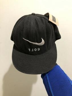 Vintage 90s Nike Golf Strapback Hat Cap Tiger Woods Jordan R