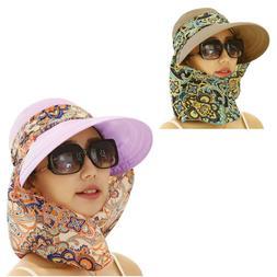 Pink Womens Sun Visor Hats Beach Golf Wide Brim Hats Ladies