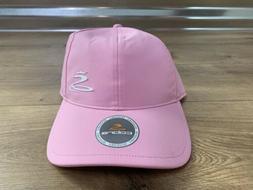 Cobra Women's Golf Hat Adjustable Size Prism Pink White