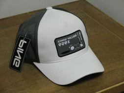 Women's Ping Performance Golf Hat Silver/White Adjustable BR