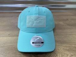 Puma Womens Utility Patch Golf Hat Mist Green Adjustable