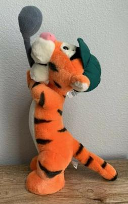 Disney World Golfer Tigger Plush Stuffed Animal Golf Club Gr