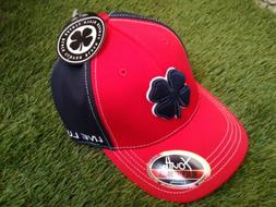 YOUTH Black Clover Live Lucky Golf Hat - Red / Black - NEW w
